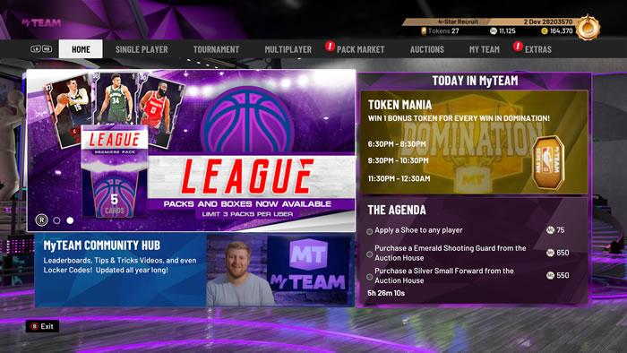 「NBA 2K20」
