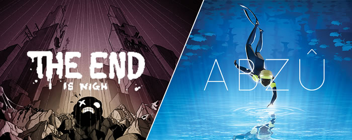 「The End Is Nigh」「ABZÛ」