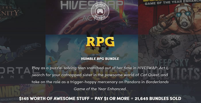 「Humble RPG Bundle」