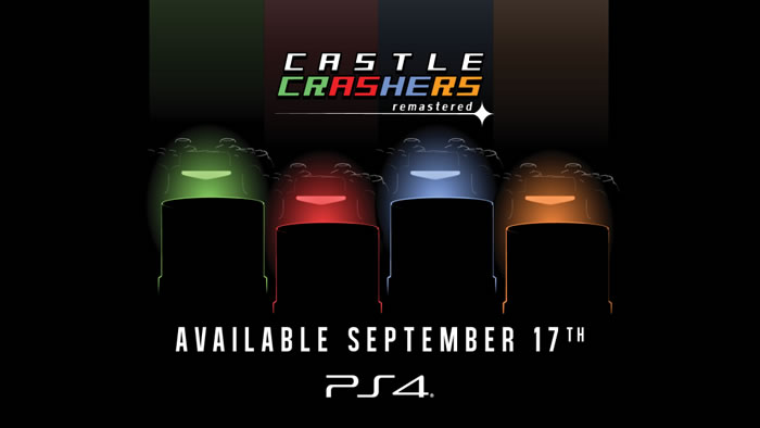 「Castle Crashers Remastered」