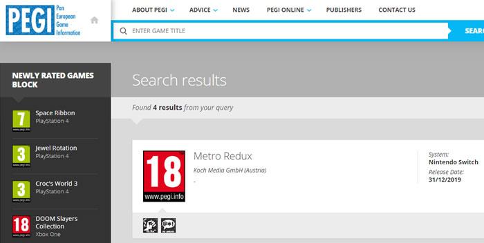 「Metro Redux」