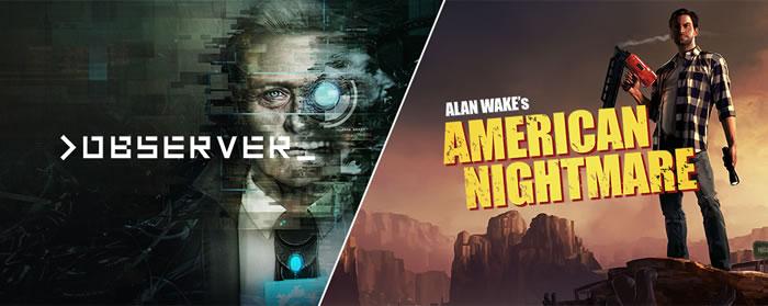 「Alan Wake's American Nightmare」「observer_」