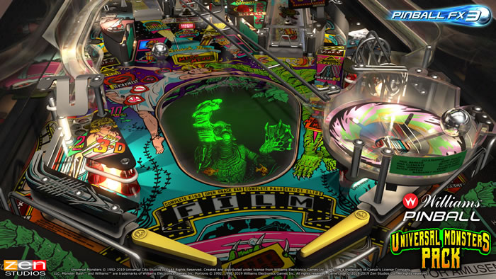 「Williams Pinball: Universal Monsters Pack」