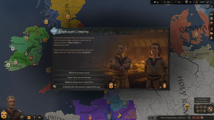 「Crusader Kings III」