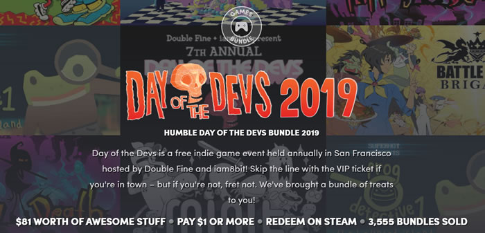 「Humble Day of The Devs Bundle 2019」