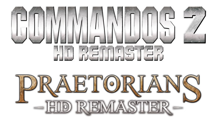 「Commandos 2 HD Remaster」「Praetorians HD Remaster」