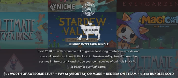 「Humble Sweet Farm Bundle」