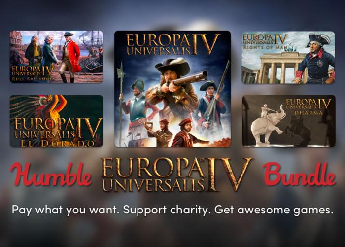 「Humble Europa Universalis IV Bundle」