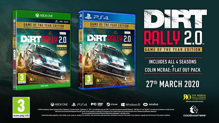 「DiRT Rally 2.0」