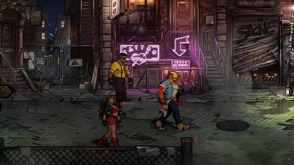 「Streets of Rage 4」