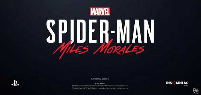 「Spider-Man: Miles Morales」