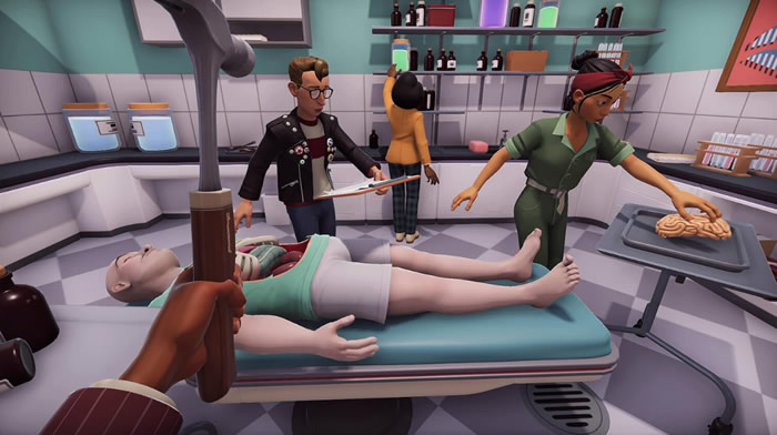 「Surgeon Simulator 2」