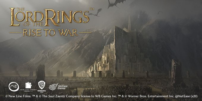 「The Lord of the Rings: Rise to War」