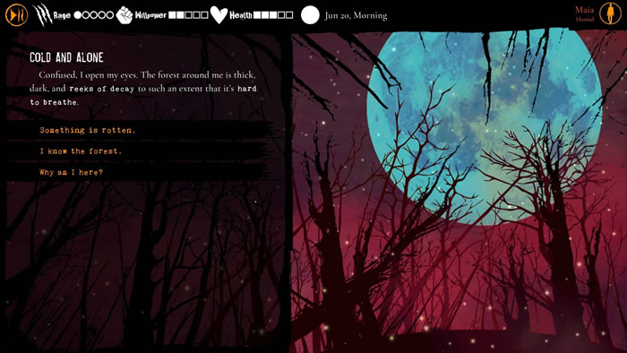 「Werewolf: The Apocalypse - Heart of the Forest」