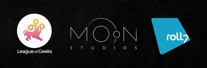 「Moon Studios」「Roll7」「League of Geeks」