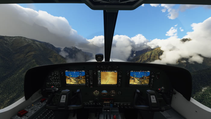 「Microsoft Flight Simulator」
