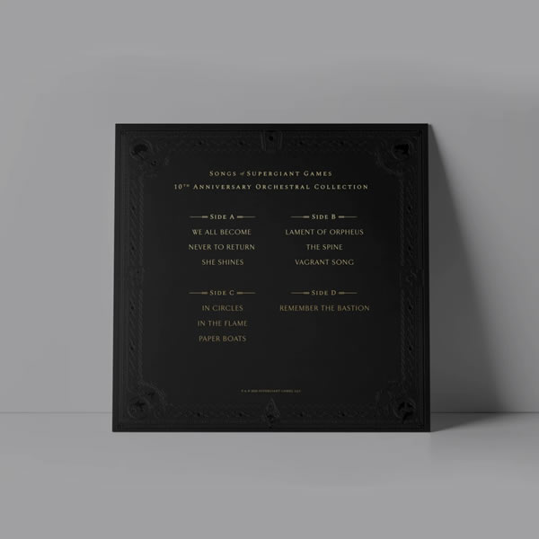 「The Songs of Supergiant Games: 10th Anniversary Orchestral Collection」