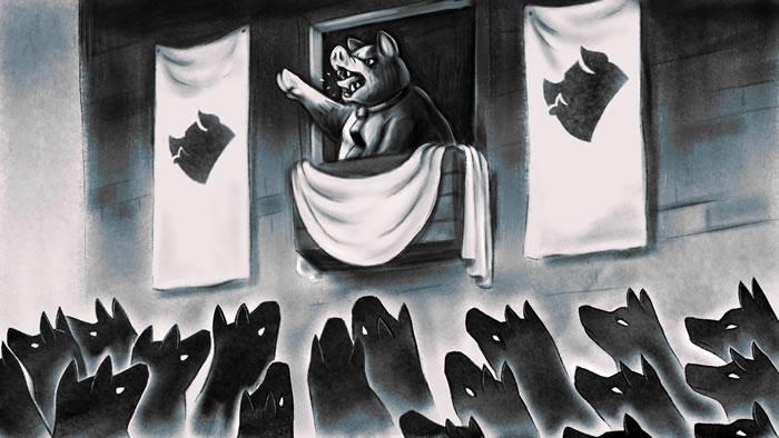 「Orwell's Animal Farm」