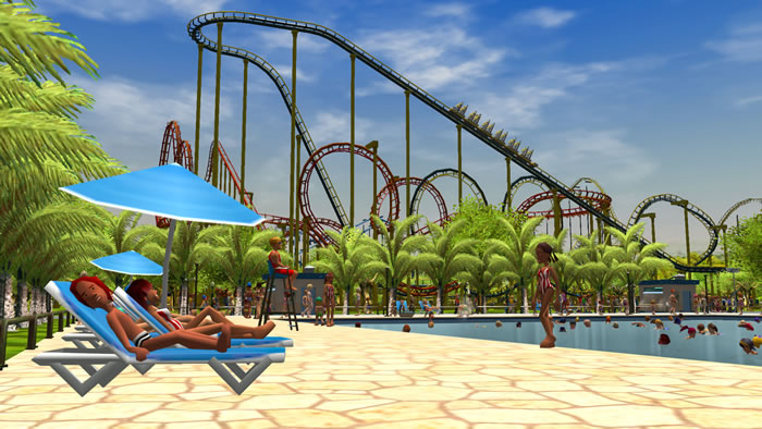 「RollerCoaster Tycoon 3」
