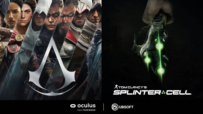 「Assassin's Creed」  「Tom Clancy's Splinter Cell」