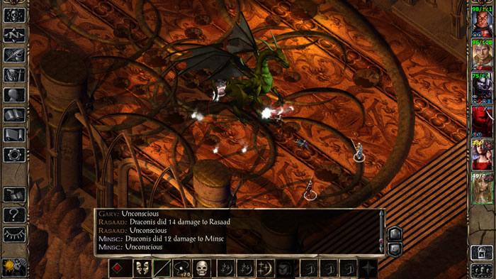 「Baldur's Gate II」