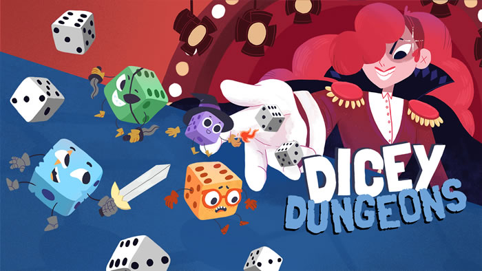 「Dicey Dungeons」