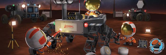 「Kerbal Space Program」
