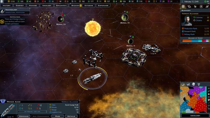 「Galactic Civilizations III」