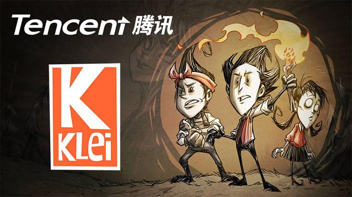 「Klei Entertainment」「Tencent」