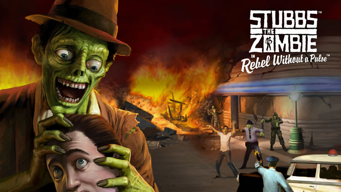 「Stubbs the Zombie in Rebel Without a Pulse」