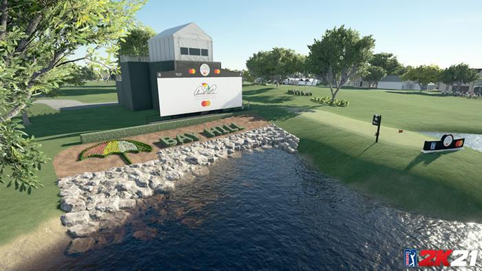 「ゴルフ PGAツアー 2K21」