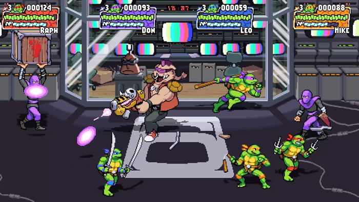 「Teenage Mutant Ninja Turtles: Shredder's Revenge」