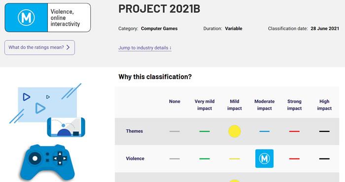 「PROJECT 2021B」