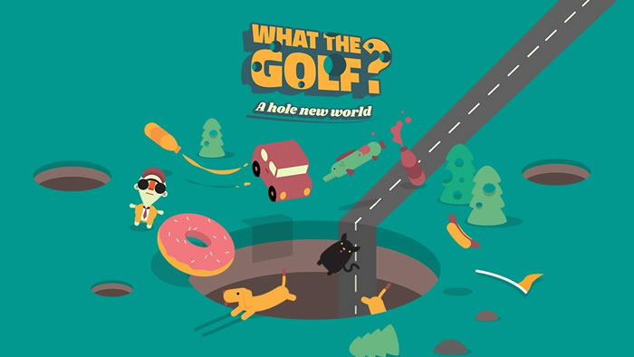 「WHAT THE GOLF?」
