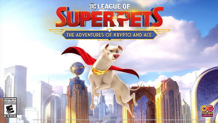 「DC League of Superpets The adventures of Krypto and Ace」