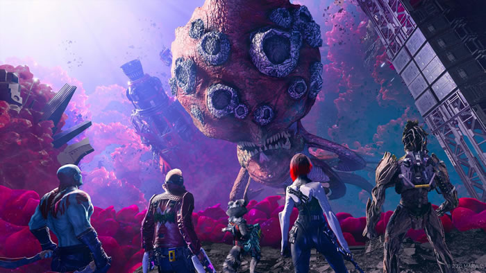 「Marvel's Guardians of the Galaxy」